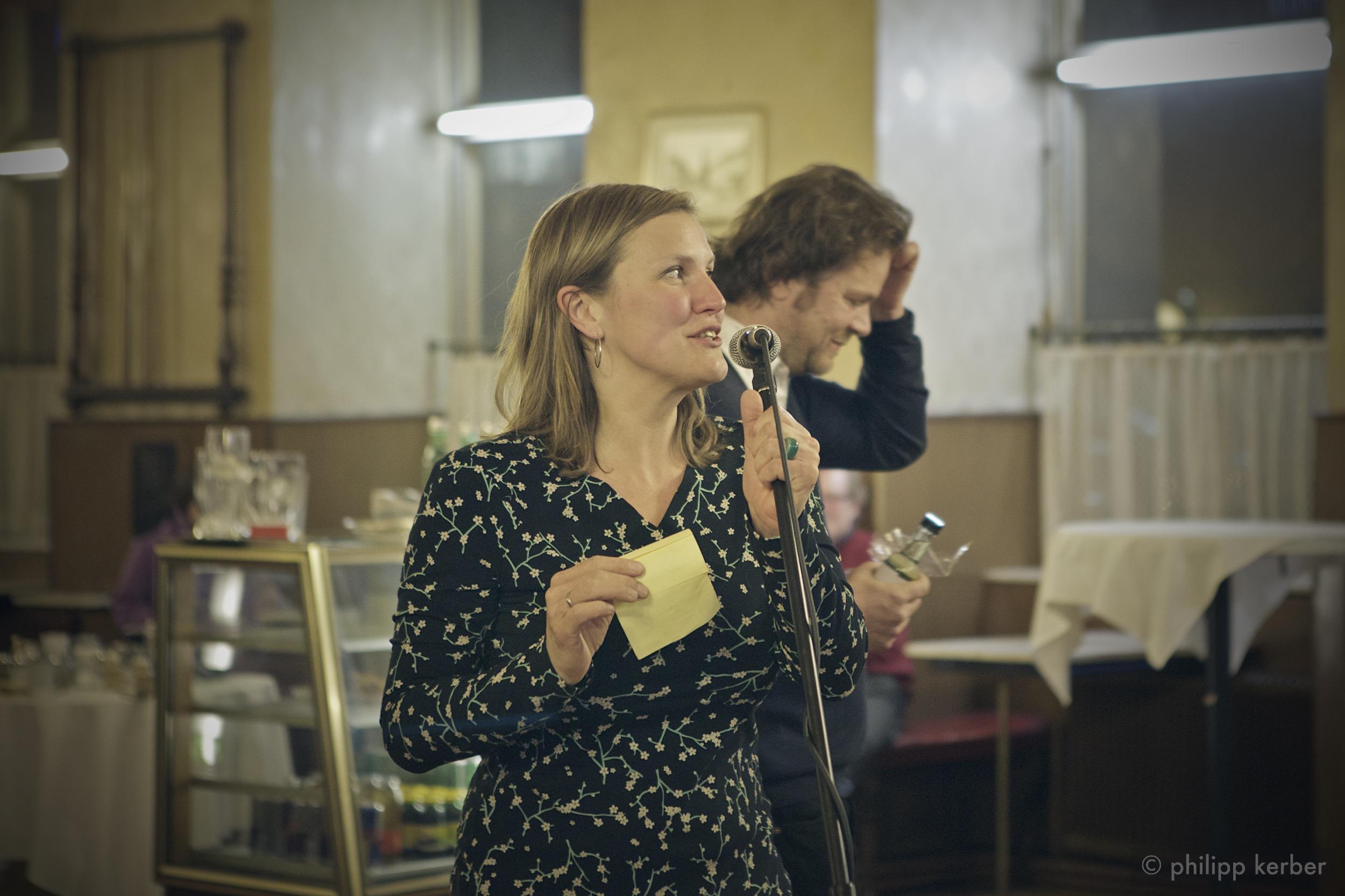 Katharina Hohenberger im Café Am Heumarkt